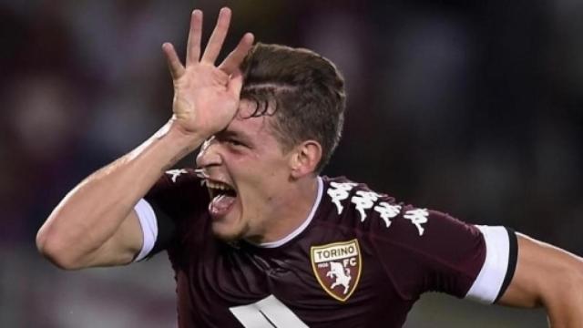 Belotti potrebbe essere presto un attaccante della nuova Roma di Mourinho