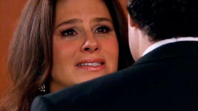 Cristina quer se separar de Aguiar no capítulo desta terça (15) de 'Amores Verdadeiros'