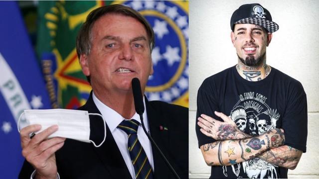 Cantores criticam Bolsonaro por querer desobrigar uso de máscara por vacinados