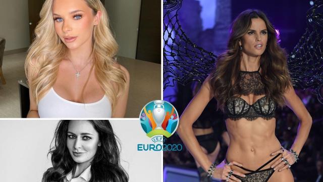 Coup de projecteur sur les plus belles femmes de joueurs de l'Euro 2020