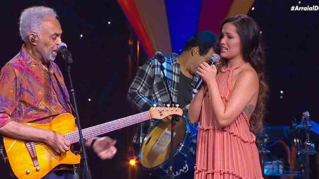 Gilberto Gil e Juliette emocionam em live e recebem elogios