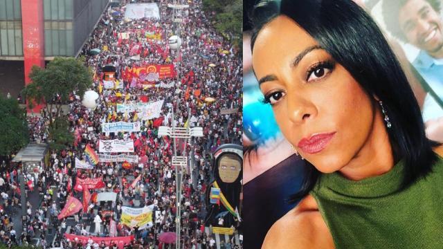 Celebridades marcam presença nas manifestações contra o governo Bolsonaro
