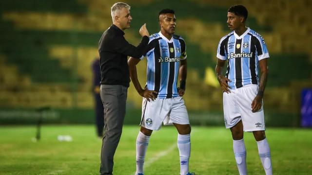 Com discurso de 'investir na base', Grêmio tem média de idade superior a 30 anos
