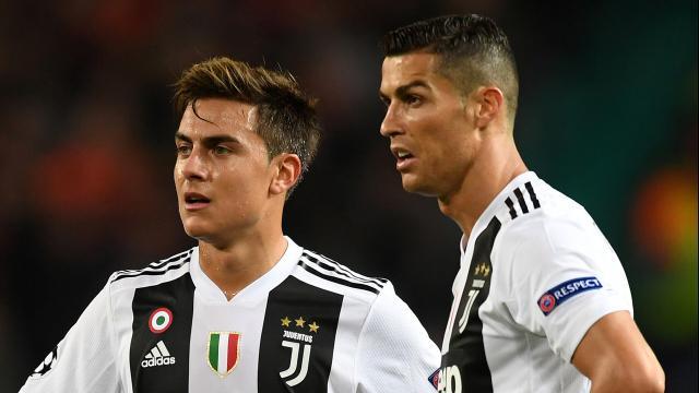 Juventus: se Ronaldo rimane a Torino Dybala potrebbe finire in Spagna