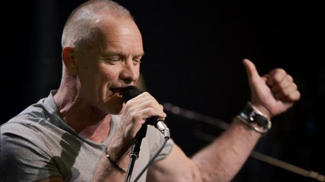 Sting annuncia altre due date italiane dopo quella di Taormina a settembre