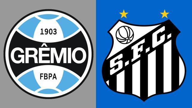 Onde acompanhar ao vivo Santos x Grêmio pelo Brasileirão