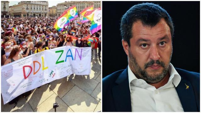 Ddl Zan, Il Vaticano si oppone all'approvazione, Salvini: 'Grazie per il buonsenso'