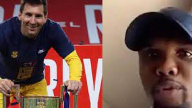 ''Messi a joué avec moi'', la punchline de Samuel Eto'o