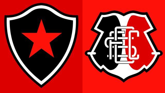 Botafogo da Paraíba recebe o ameaçado Santa Cruz, pela Série C