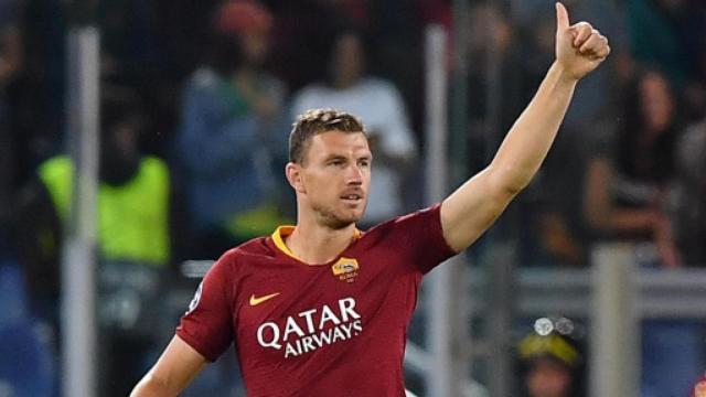 Dzeko, futuro incerto: la Roma potrebbe battere la concorrenza della Juve per Icardi