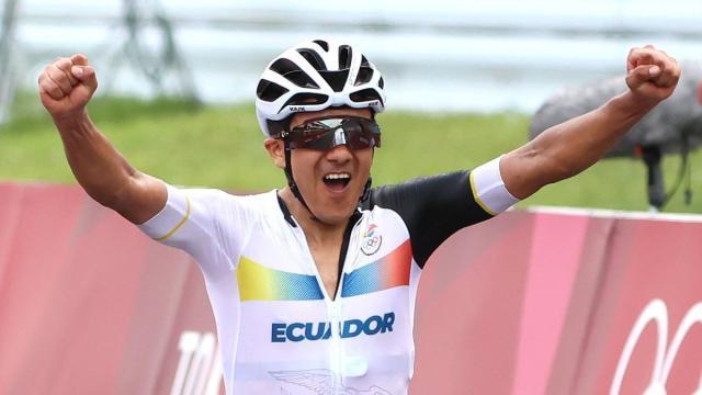 Olimpiadi Tokyo: Richard Carapaz d'oro davanti a van Aert e Pogacar