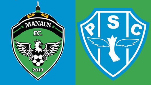 Informações da partida Manaus x Paysandu pela Série C