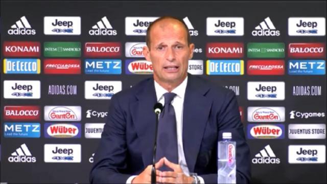 Allegri: 'Cristiano Ronaldo avrà una responsabilità maggiore'