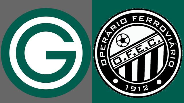 Goiás e Operário-PR se enfrentam pela 15ª rodada da Série B