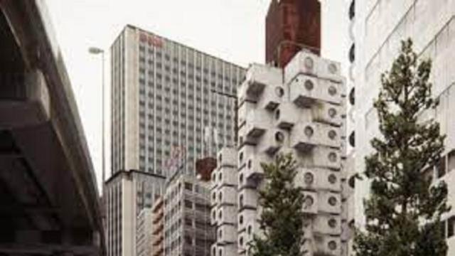 Tokyo : La Nakagin Tower va être réhabilitée