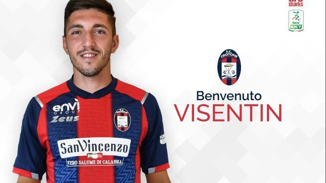 Calciomercato Crotone: Santiago Visentin debutta contro la Giana Erminio