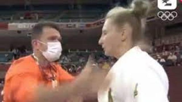 Jeux Olympiques : Un entraineur met de fortes claques à sa judokate