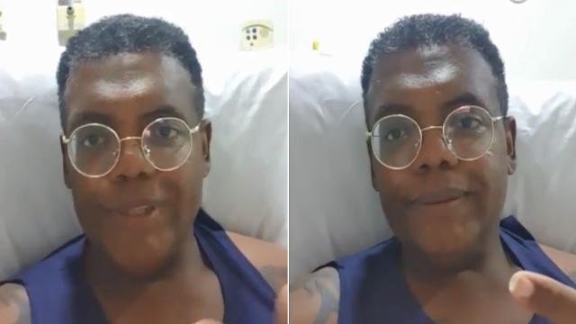 MC Marcinho é internado para cirurgia e famosos enviam mensagens positivas