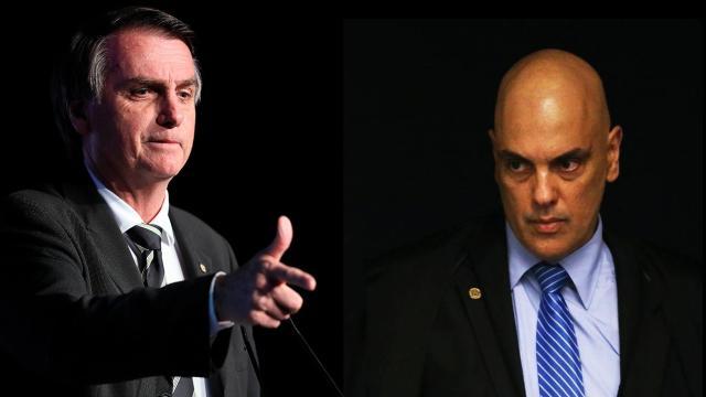 Bolsonaro diz que Alexandre de Moraes o chamou de 'mentiroso'
