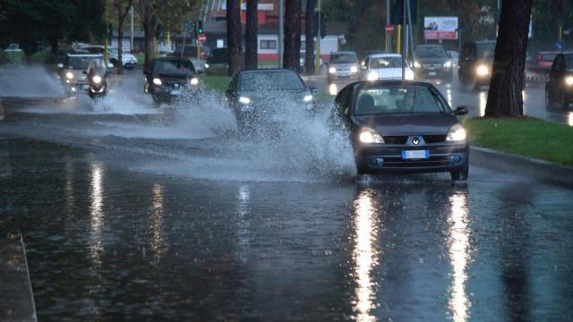 Maltempo in Calabria: raffiche di vento e precipitazioni