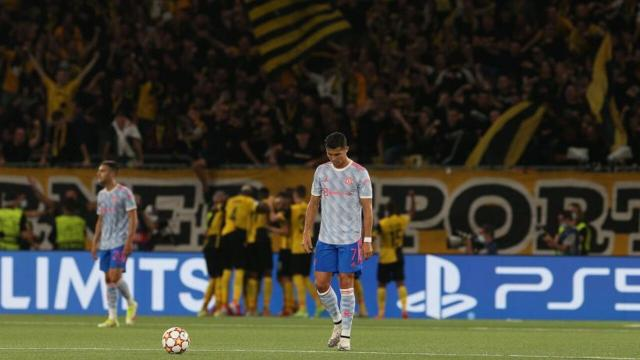 Young Boys - Manchester United 2-1: Ronaldo ko in Champions League con i Red Devils