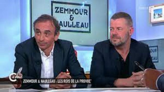Eric Naulleau critique Zemmour sur fond de présidentielles