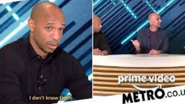 Thierry Henry ne 'calcule' pas Tottenham sur Prime Video