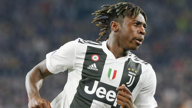 Juve-Milan: Allegri pronto a schierare Moise Kean dal primo minuto