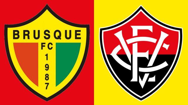 Brusque e Vitória se enfrentam por recuperação na Série B