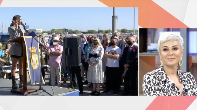 Ana María asegura no haber asistido al homenaje a la Jurado: 'por respeto'