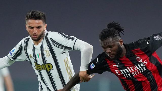 Juventus - Milan: fischio d'inizio alle 20:45 all'Allianz Area
