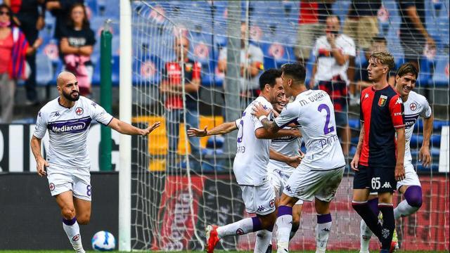 Genoa, sconfitto dalla Fiorentina: rossoblù rinunciatari fin dall'inizio
