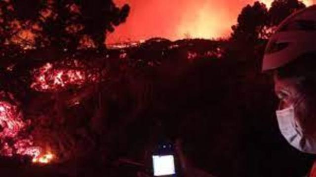 El volcán de Cumbre Vieja en La Palma ha ralentizado su velocidad