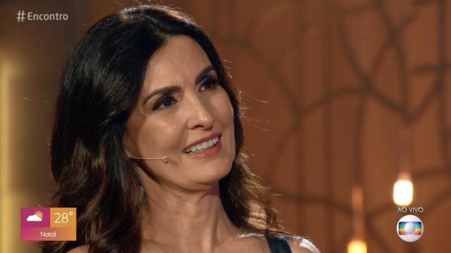 Fátima Bernardes é parabenizada por colegas por seu aniversário