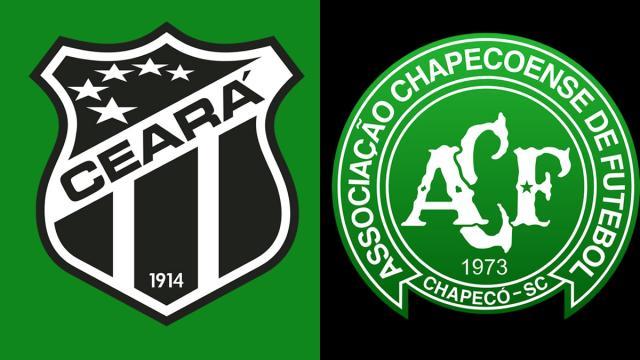 Informações sobre a partida Ceará x Chapecoense