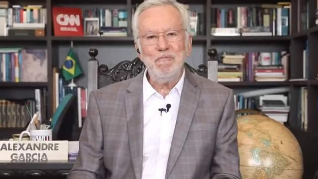 Após defender 'tratamento precoce', Alexandre Garcia é demitido da CNN Brasil