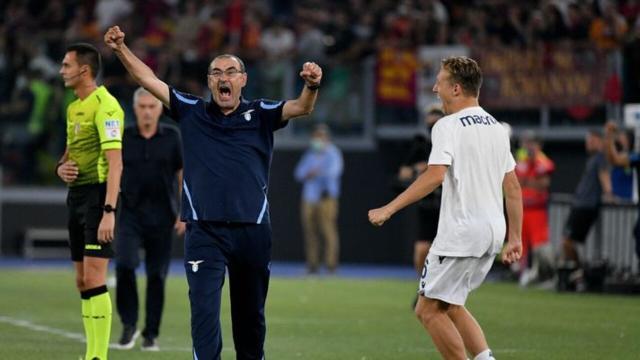 Lazio - Roma 3-2, le pagelle: Pedro cinico, Sarri un condottiero