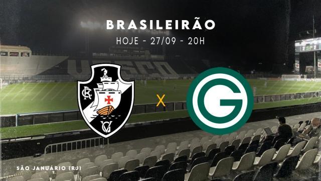 Vasco enfrenta o Goiás ainda sonhando com o acesso