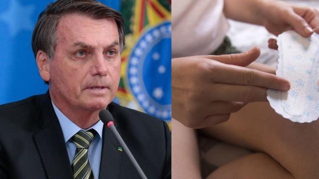 Bolsonaro veta absorvente gratuito e artistas reagem