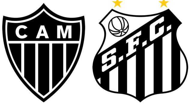 Atlético-MG defende invencibilidade de quase um turno contra o Santos