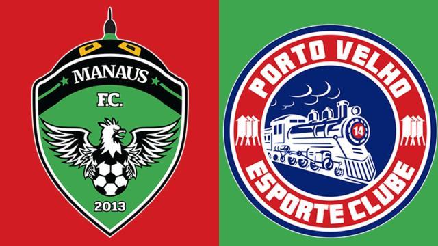 Manaus encara Porto Velho pela segunda fase da Copa Verde