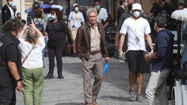Harrison Ford e Antonio Banderas in Sicilia per il 5° capitolo di Indiana Jones