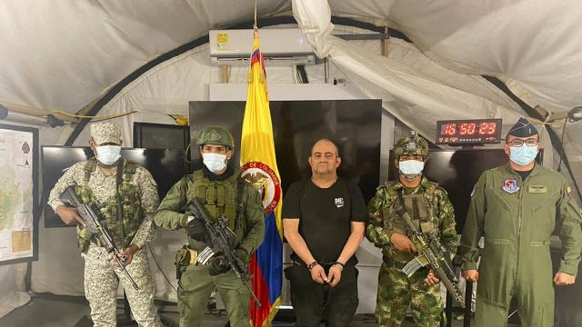 Colombia, arrestato il narcotrafficante Otoniel: era considerato il nuovo Escobar