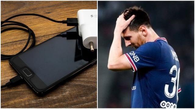 Projectiles, débordements, la vidéo du chargeur de téléphone balancé sur Leo Messi