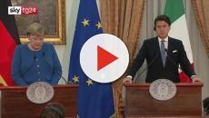 Incontro Merkel-Conte: combattere cause movimenti migratori