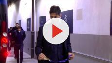 Inter-Barcellona, gli arrivi delle squadre a San Siro