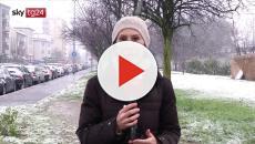 Nevica a Milano dalle prime ore del giorno