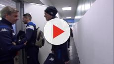 Video Brescia-Milan, l'arrivo delle due squadre al Rigamonti
